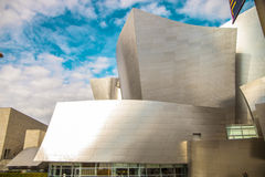 The Walt Disney Concert Hall on a cloudy day Stock Image