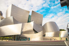 The Walt Disney Concert Hall on a cloudy day Stock Photo