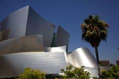 Walt Disney Concert Hall Detail-Mening Stock Fotografie