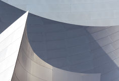 Walt Disney Concert Hall Detail Vertical Royalty Free Stock Image