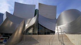 Walt Disney Concert Hall em Los Angeles - CALIFÓRNIA, EUA - 18 DE MARÇO DE 2019 video estoque