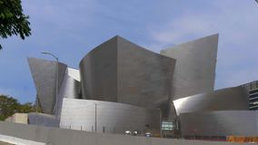 Walt Disney Concert Hall em Los Angeles - CALIF?RNIA, EUA - 18 DE MAR?O DE 2019 filme