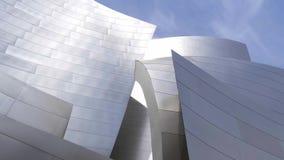 Walt Disney Concert Hall em Los Angeles - CALIF?RNIA, EUA - 18 DE MAR?O DE 2019 vídeos de arquivo
