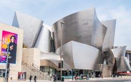 Walt Disney Concert Hall em Los Angeles - CALIF?RNIA, EUA - 18 DE MAR?O DE 2019 imagem de stock royalty free