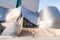 Walt Disney Concert Hall em Los Angeles - CALIF?RNIA, EUA - 18 DE MAR?O DE 2019 fotografia de stock royalty free