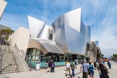 Walt Disney Concert Hall em Los Angeles - CALIF?RNIA, EUA - 18 DE MAR?O DE 2019 foto de stock royalty free