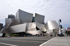 Walt Disney Concert Hall In Los Angeles Royalty Free Stock Photo