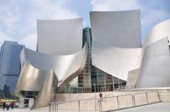 Walt Disney Concert Hall in Los Angeles Stock Photos