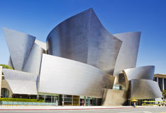 Walt Disney Concert Hall in Los Angeles. Los Angeles, USA - July 27, 2011: Walt Disney Concert Hall on July 27, 2011 in Los Angeles. The hall was designed by Royalty Free Stock Images
