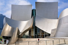 Walt Disney Concert Hall in Los Angeles Royalty Free Stock Photos