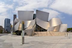 Walt Disney Concert Hall, Los Angeles, California Stock Photos