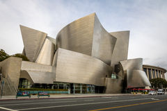 The Walt Disney Concert Hall - Los Angeles, California, USA Royalty Free Stock Photos