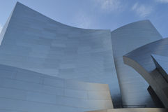 Walt Disney Concert Hall Los Angeles. Detailed View of upper surface Royalty Free Stock Images
