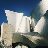 Walt Disney concert hall. View of the concert hall Royalty Free Stock Images