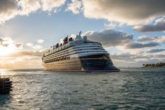 Walt Disney Cruise Ship Fotografering för Bildbyråer