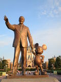 Walt Disney et Mickey Mouse Photos libres de droits