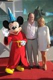 Walt Disney, John Turtletaub Royalty-vrije Stock Foto's