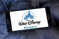 Walt disney pictures logo Royalty Free Stock Photography