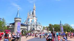 Walt Disney värld Magiskt kungarike orlando USA lager videofilmer