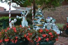 Walt Disney-Welt - Disney-Spielwaren wünschen Sie frohe Feiertage Walt Disney-Welt - frohe Feiertage Lizenzfreies Stockfoto