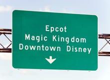 Walt Disney światu przyciągania Fotografia Stock
