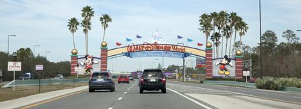 Walt Disney World Entrance Royaltyfri Fotografi