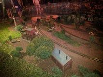 Walt Disney World France Town Image stock