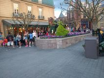 Walt Disney World France Town Fotografie Stock