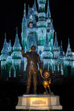 Walt Disney World Mickey Mouse-Standbeeld Royalty-vrije Stock Foto's