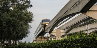 Walt Disney World Monorail Royalty Free Stock Photography
