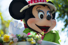 Walt Disney World parade daytime with mini Royalty Free Stock Image