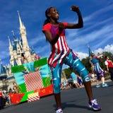 Walt Disney World Parade Party Stock Images