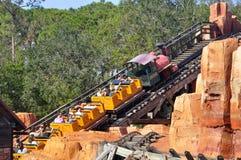 Walt Disney World Railroad. Magic Kingdom, Disney World Resort, Orlando, Florida Royalty Free Stock Photo