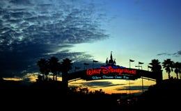 Walt Disney World Sunset Royalty Free Stock Photos