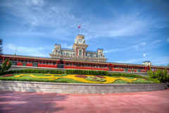 Walt Disney World Train Station Immagine Stock
