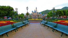 Walt disney's cinderella castle Royalty Free Stock Image