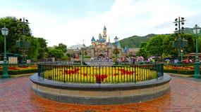 Walt disney's cinderella castle Stock Photo