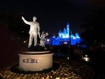 Walt en Mickey royalty-vrije stock afbeelding