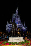 Walt and Mickey Statue. Royalty Free Stock Images