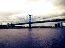 Walt Whitman Bridge Royalty Free Stock Photo
