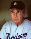 Walter Alston. Los Angeles Dodgers manager Walter Alston. (Image taken from color slide Royalty Free Stock Photos