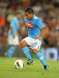 Walter Gargano of SSC Napoli Royalty Free Stock Photos