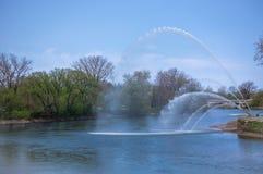 Walter J Blackburn-Denkmal-Brunnen Lizenzfreies Stockbild
