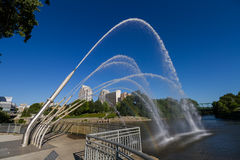Walter J Blackburn-Denkmal-Brunnen Lizenzfreies Stockfoto