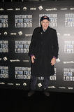 Walter Koenig à la destination Star Trek dans des quartiers des docks 19ème de Londres Images libres de droits
