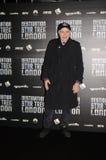 Walter Koenig Przy miejscem przeznaczenia Star Trek W Londyńskich Docklands 19th Obrazy Royalty Free