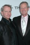 Walter Lowry and Craig Thompson at the APLA 'The Envelope Please' Oscar Viewing Party. The Abbey, West Hollywood, CA 02-22-09 Royalty Free Stock Photos