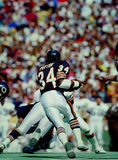 Walter Payton Chicago Bears. Former Chicago Bears superstar Walter Payton  #34. (image taken from color slide Royalty Free Stock Photos