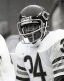 Walter Payton Chicago Bears. Former Chicago Bears superstar Walter Payton  #34. (image taken from B&W negative Stock Photos
