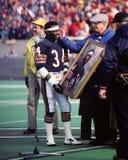 Walter Payton. Chicago Bears legend Walter Payton's final game. (Image taken from color slide Stock Photo